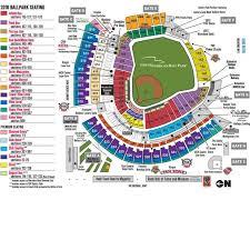 Reds Stadium Seating Rows 2019