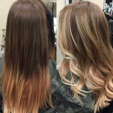 Hair Style Before And After balayage hairstyle before and after her style code 5960 by wearticles.com