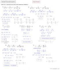 appealing factoring quadratic equations worksheet algebra 2 answers jennarocca solving polynomial 4277405 rat solving polynomial equations