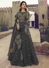 Designer Anarkali Suits Uk Shop Net Long Length Designer Anarkali Suit Online In Uk
