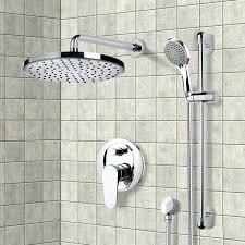rain head shower system shower faucet chrome shower system with 8 dual rain shower head system