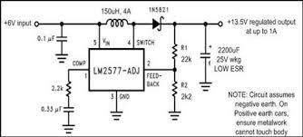 6v to 12v dc converter circuits 6 12 converter