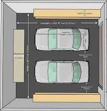 garage size garage merements garage dimensions contemporary garages exterior garage garage design and car garage