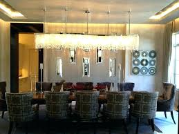 dining table chandeliers