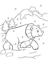 Small Picture Coloring Pages Draw A Polar Bear Click The Polar Bear Walking