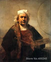 family portrait paintings rembrandt van rijn s self portrait with two circles wall art high quality hand