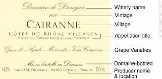 White Burgundy Vintage Chart French Wine Label Information Wine Searcher Com