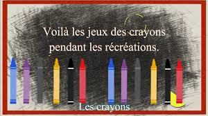 Les Crayons De Couleurs Chanson Sur La Rentr E Paroles Corinne