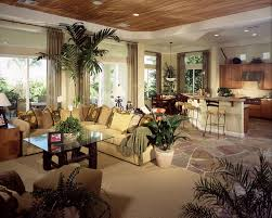 ious living room and kitchen open concept living e with fashionable sectional sofa