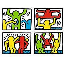 """Résultat de recherche d'images pour """"Keith Haring"""""""
