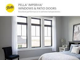 Pella Impervia Fiberglass Replacement Black Exterior Single