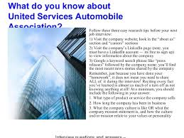 united services automobile association united services automobile association interview questions and answers