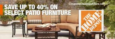 the home depot furniture. home depot outdoor furniture 40 off patio online only coupons deals property the