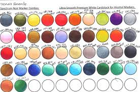 Favorite Color Chart Trenas Stampin Headquarters My Favorite Color Combo Chart