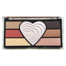 <b>Палетка теней и хайлайтеров</b> Makeup Revolution Love The ...