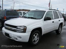 2007 Chevrolet TrailBlazer LS 4x4 in Summit White - 119955 ...