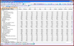 Sample Accounting Spreadsheets For Excel Free Budget Template Full ...