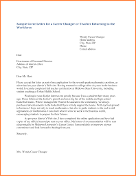 7 Writing A Letter Of Application For A Teaching Job Bussines
