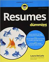 Modern Day Kids Resume Resumes For Dummies Laura Decarlo 9781119539285 Amazon