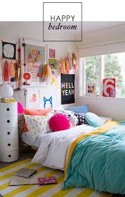 home office colorful girl. Dorm Rooms, Teen Little Girl Colorful Bedding, Room Home Office