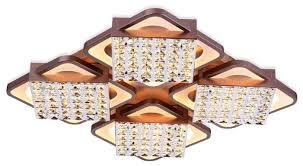 <b>Светильник</b> светодиодный <b>Ambrella light FA129</b>/4 CF, LED, 222 Вт