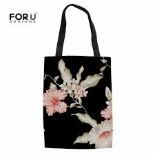 <b>FORUDESIGNS Cartoon</b> Kitty <b>Cat Printing</b> Women Tote Canvas ...
