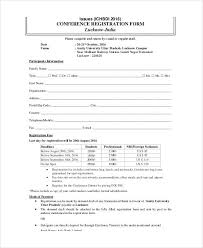 Registration Form Template Word Free Conference Registration Form Template Word Registration Form