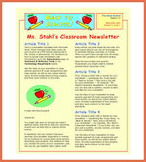 classroom rules template sample classroom newsletters military bralicious co