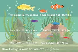 How Size Affects An Aquariums Weight