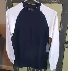Galaxy By Harvic Size Chart New Galaxy By Harvic Mens Long Sleeve Thermal Shirt Small Navy White
