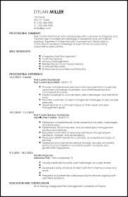 Fascinating Pest Control Resume Sample 76 On Good Objective For Resume With Pest  Control Resume Sample