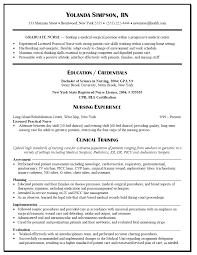 Sample Registered Nurse Resume Templates Free Cover Letter Tasty