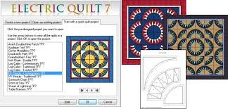 Electric Quilt Software Version 7 for MAC or PC: Full featured ... & Start with a quick-quilt Adamdwight.com