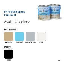 pool paint colorsEP Hi Build Epoxy