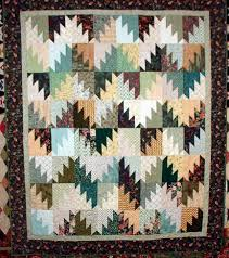 Scrappy Mountain Majesties! & Lap Quilt size approx 60