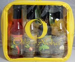 gift set oils of aloha macadamia nut oil
