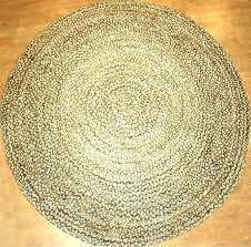 N Round Sisal Rug 8 Jute Rugs Cleaning