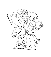 Click on the free fairy tale colour page you would like to print, if you print them all you can make your own fairy tales coloring book! Free Printable Fairy Coloring Pages For Kids Fairy Coloring Pages Fairy Coloring Book Fairy Coloring
