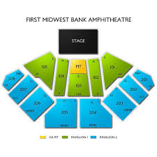 Hollywood Casino Amphitheatre Chicago 2019 Seating Chart