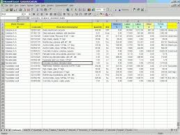 construction estimate sample building construction estimate sample fern spreadsheet