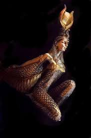 Isis is the greek form of the goddess's name, which in ancient egyptian was aset, meaning seat or throne. depicted as a slim woman wearing a sheath dress. Goddess Isis Brian Raggatt Paintings Prints Fantasy Mythology Mythology Egyptian Isis Artpal
