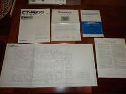 pioneer ct f650 tape deck original Wiring Diagram Tape Speaker Wiring Diagram