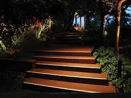 lighting steps. down lit steps lighting t