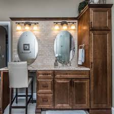 bathroom cabinets st louis. custom master bath vanity with built-in cabinets | inspiration by prosource of st. louis bathroom st