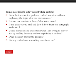 Essay Assignment Writing  Planning to Editing   ppt video online