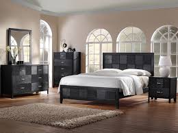 black wood bedroom furniture. Bedroom, Lovely Natural Bedroom Decoration With Magnificent Black Wooden Storage Ideas And Amazing Bedside Wood Furniture E
