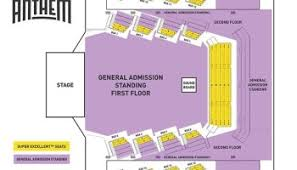 The Anthem Seating Chart Expository Rams Head Live Baltimore Seating Chart Rams Head