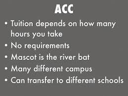 College Choices By Aaron Sanchez