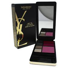 very ysl silver edition makeup palette by yves saint lau for women 1 pc palette walmart