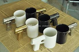 Top rated seller top rated seller. Discount Creative Personlized Handgun Ceramic Coffee Mug With Gun Handle Home Kitchen Gift Cup Dhl From Romanda 281 51 Dhgate Com